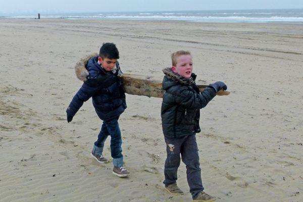 kinderfeest strandjutten
