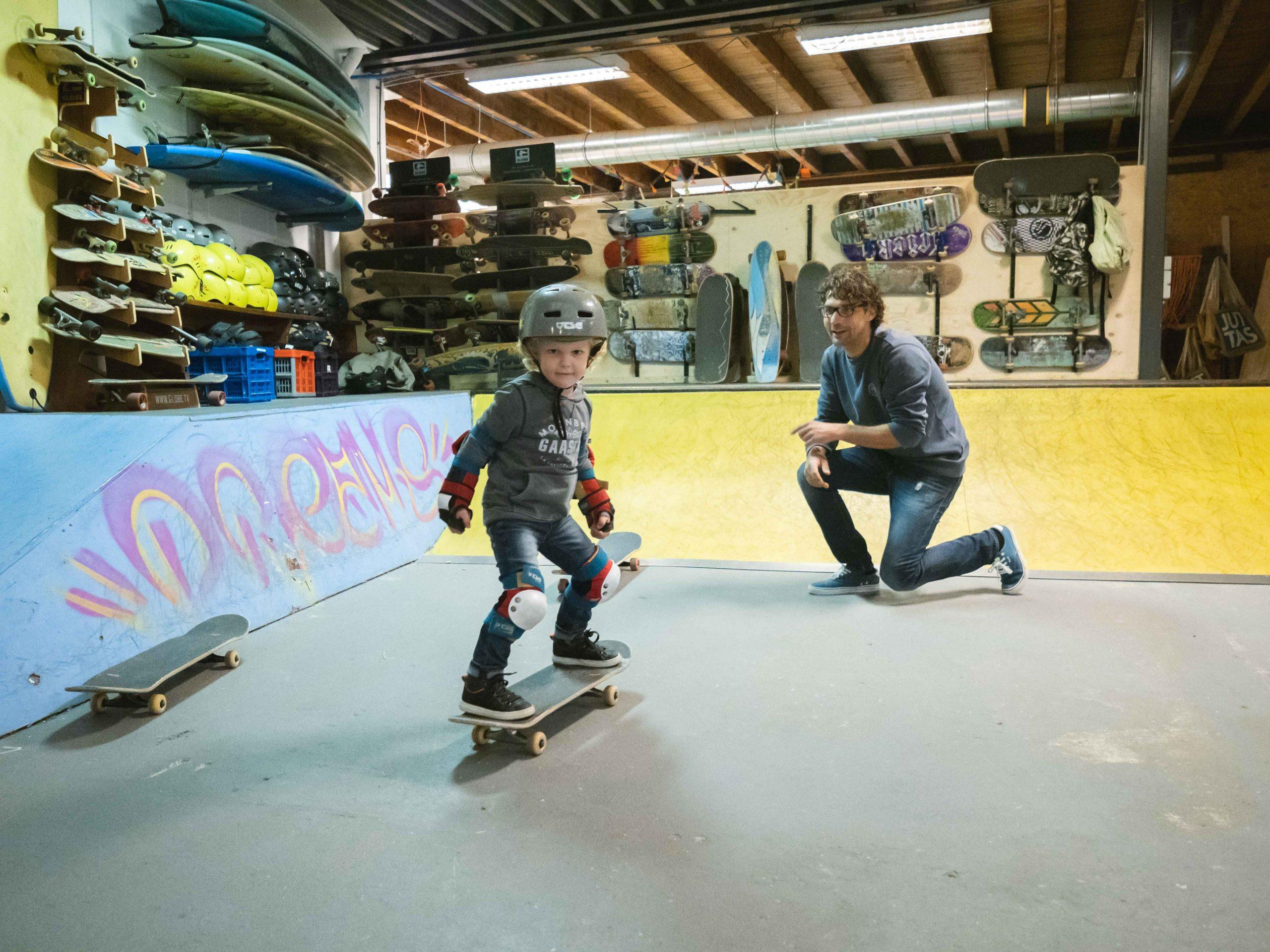 SkateMini's bij Dreams Skateschool